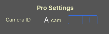 cameraID